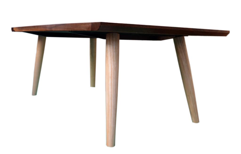 Wedged Tenon Walnut Coffee Table