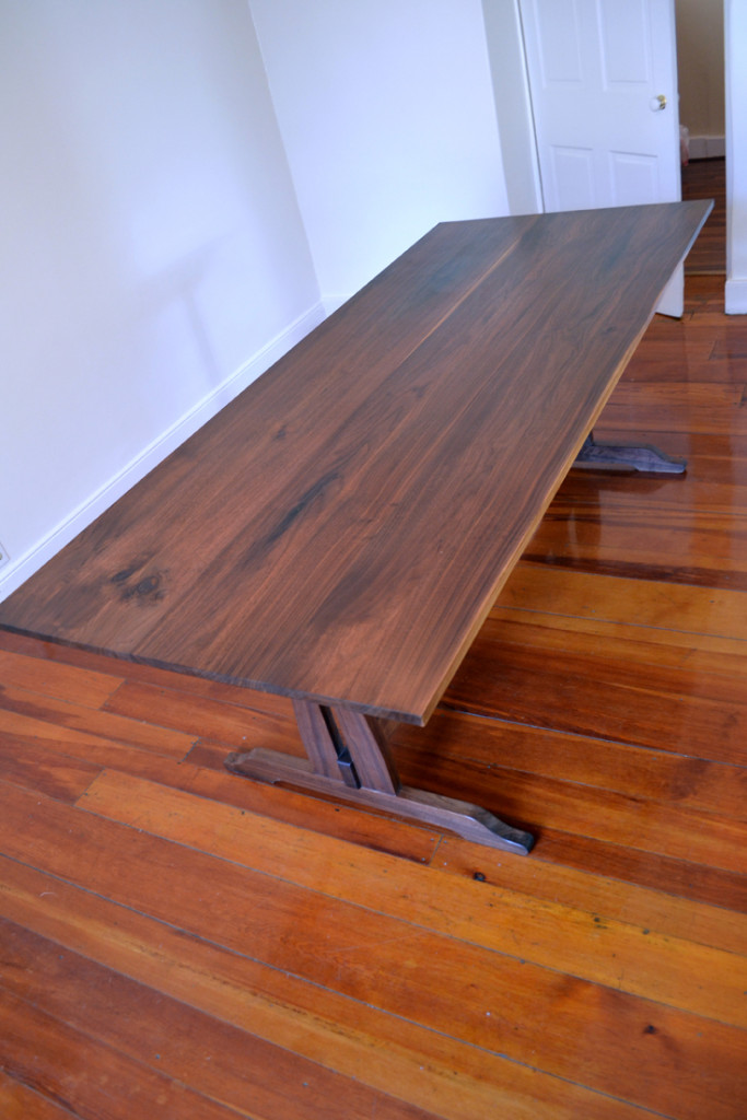 Walnut-Farmhouse-Trestle-Dining-Table-Top