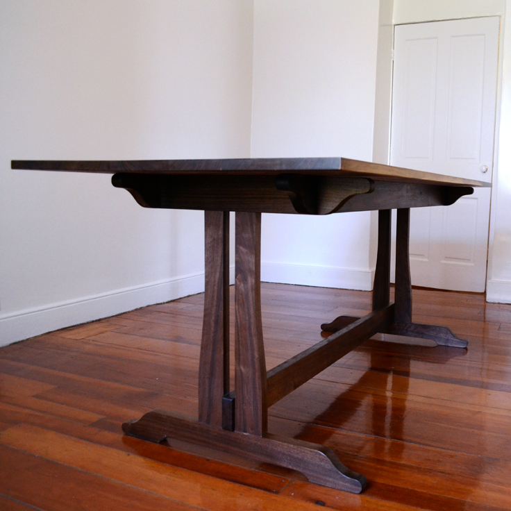 Walnut-Farmhouse-Trestle-Dining-Table