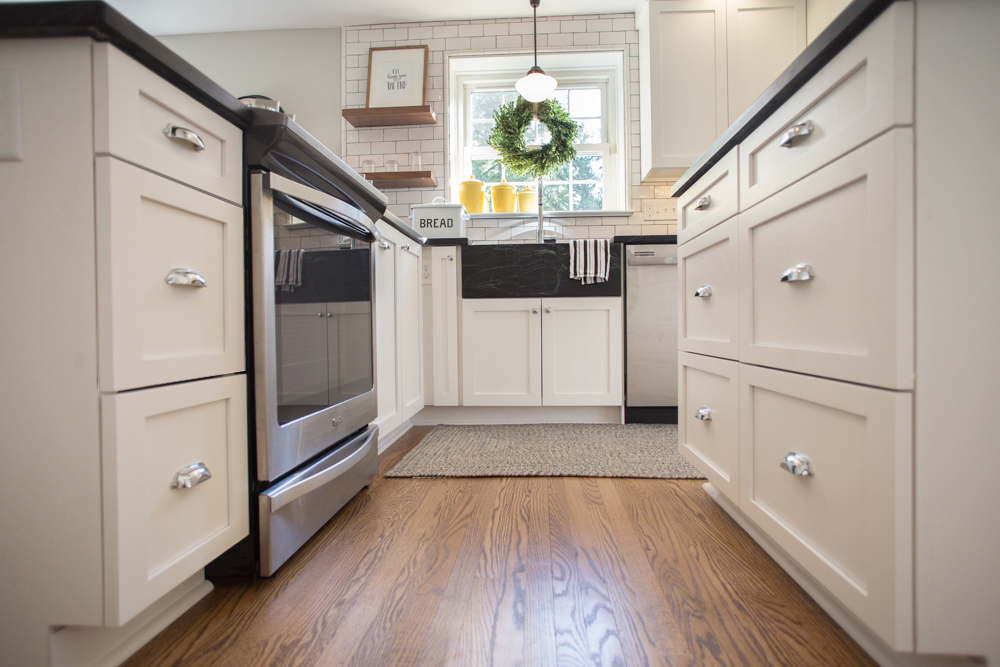 top-knobs-m1911-dakota-pull-custom-soapstone-sink-counters-countertop-schoolhouse-pendant-wavy-handmade-subway-tiles