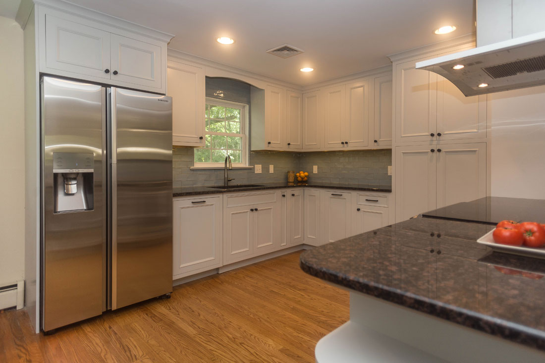 Laurel-Kitchen-Inset-kitchen-cabinets-benjamin-moore-gray-owl-2137-60